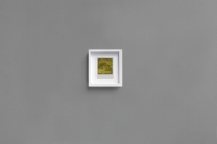 <em>79</em> (2011), Polaroid photograph, gold leaf, wooden frame, 16.8 × 18.8 cm/6.6 × 7.4 inches